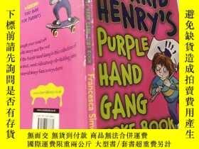 二手書博民逛書店horrid罕見henry s purple hand gang可怕的亨利的紫手幫派 :Y200392