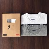 t恤男短袖 純棉寬鬆夏季圓領男士休閒打底衫體恤純白全棉純色白色 亞斯藍