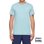 Asics 藍色 棉質 東京奧運 短袖 T恤 男款 NO.H2874【新竹皇家 2191A226-400】