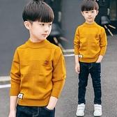 童裝男童男孩毛衣套頭兒童新款春秋裝針織衫秋冬款正韓洋氣潮