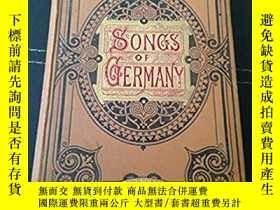 二手書博民逛書店The罕見Songs of GermanyY28384 Jaco