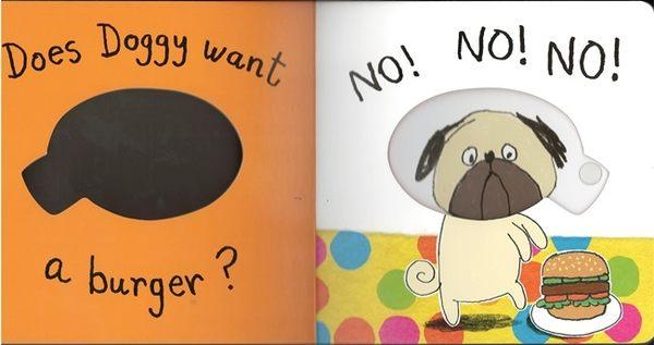 『可愛搖搖書 』 WHAT DOES DOGGY WANT?  /硬頁操作書