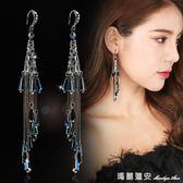 流蘇耳環長款女波西米亞裝飾誇張耳墜百搭飾品氣質韓國風大氣吊墜 全網最低價最後兩天