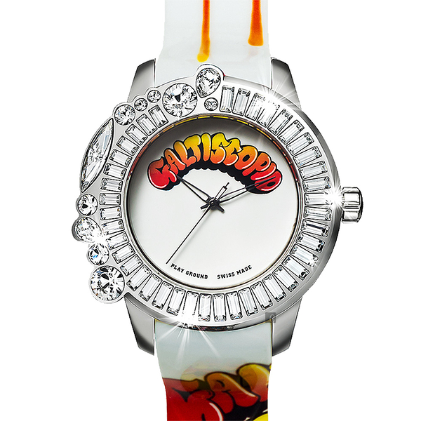 Galtiscopio 迦堤 Playground 樂園系列童年時代手錶-49mm GZ15SS001WRS