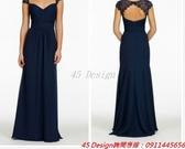 (45 Design) 訂做款式7天到貨 專業訂製款 大尺碼 定做顏色  短款公主小禮服 婚禮伴娘婚紗白紗