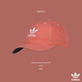 IMPACT Adidas Relaxed Original Hat 紅 老帽 棒球帽 三葉草 男女可戴 CI8480