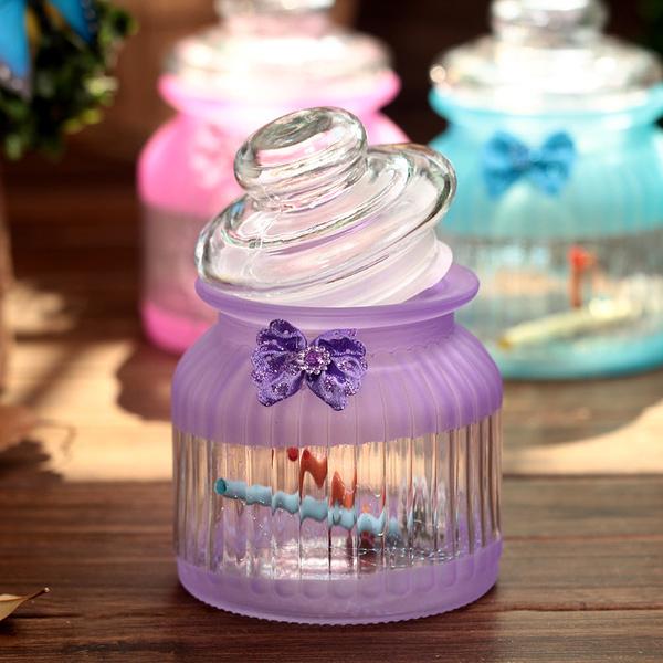 玻璃許願瓶韓版幸運星瓶閃光玻璃瓶學生禮品畢業禮物送同學(隨機出貨)─預購CH370