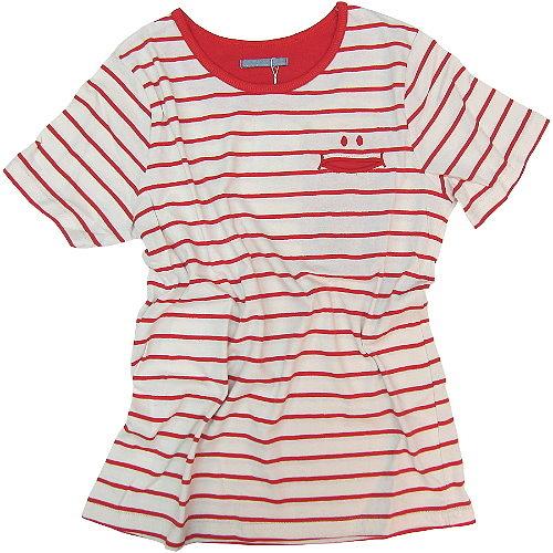 【波克貓哈日網】日系短袖T恤◇GAIN GROUND◇《紅白色條紋》