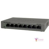 交換機 網件NETGEAR GS308 8口千兆高速網路網路監控分線器分流器T