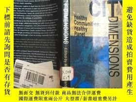 二手書博民逛書店eco-city罕見dimensions heaithy com