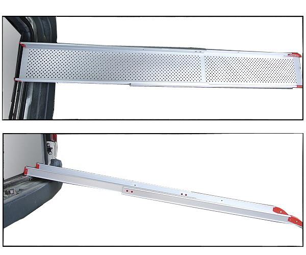鋁輪椅梯--輪椅爬梯專用斜坡板