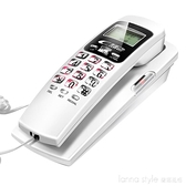 時尚掛牆電話分機辦公固定座機家用掛機酒店床頭壁掛式電話機 新品全館85折 YTL