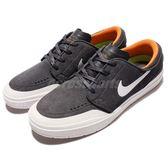【五折特賣】Nike 滑板鞋 SB Stefan Janoski Hyperfeel XT 灰 白 麂皮 橘 休閒鞋 男鞋 【PUMP306】 855922-011