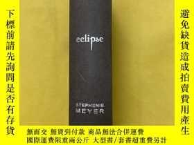 二手書博民逛書店eclipse:STEPHENIE罕見MEYER 【蝕 日食:斯蒂芬妮梅耶】Y221396 Stephenie