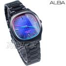 ALBA雅柏錶 科技新貴 方型錶 日期顯示窗 IP黑電鍍 男錶 AS9L87X1 VJ42-X308SD