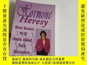二手書博民逛書店Hormone罕見HeresyY13534 Sellman, S
