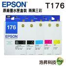 EPSON T176 (T176) 兩黑...