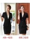 西裝外套 黑色西裝外套女薄款短袖氣質夏季新款職業裝套裝女士正裝工作西服 星河光年