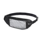Nike 腰包 Fanny Pack 黑 銀 男女款 側背包 外出小包 手機夾層 運動休閒 【ACS】 N000265008-2OS