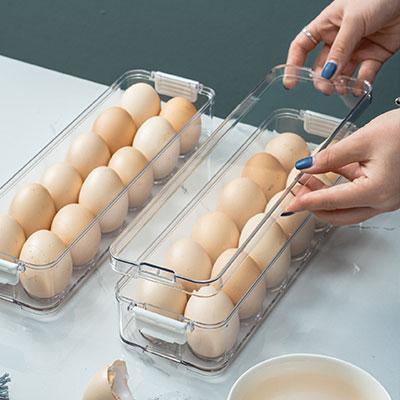 冰箱專用保鮮盒食品級塑料速凍餃子收納盒廚房雞蛋水