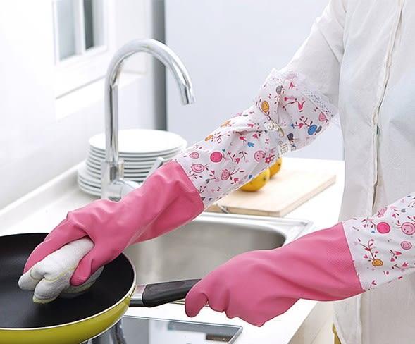 [協貿國際]  普通款耐用乳膠橡膠家務手套 (1對入)