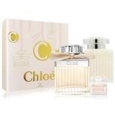 Chloe 經典同名淡香精聖誕節禮盒(淡香精+小香+身體乳) EDP-航空版