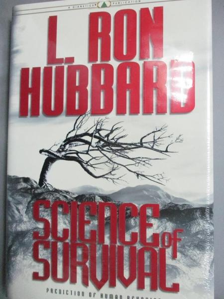 【書寶二手書T2/勵志_EXX】Science of Survival: Prediction …_Hubbard, L