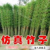仿真植物 仿真竹子室內裝飾人造景加密假竹子玄關客廳酒店櫥窗隔斷屏風綠植