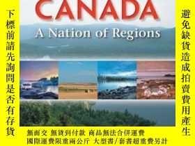 二手書博民逛書店Canada罕見A Nation Of RegionsY2551