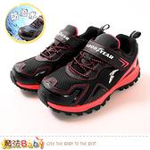 中大兒童運動鞋 防潑水越野鞋 魔法Baby
