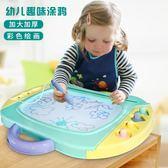 嬰幼兒磁性寫字板筆兒童1-3歲2彩色磁力畫畫板小孩寶寶涂鴉板玩具 全館八八折鉅惠促銷HTCC