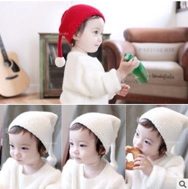 預購 - 新款大球帽子 嬰兒寶寶毛線帽秋冬季套頭帽