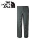 【The North Face 美國 男款 防潑保暖長褲《灰》】CNK4/防風/抓絨/寬鬆褲管