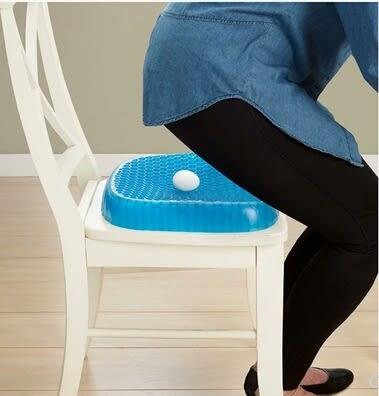 坐墊 汽車凝膠蜂巢坐墊辦公室緩坐墊夏季清涼透氣坐墊通用防燙 瑪麗蓮安