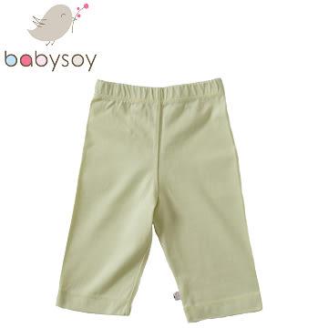 美國 [Babysoy] 時尚百搭彈性長褲126-茶綠