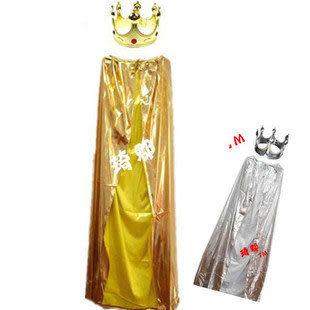 COS萬聖節主題服裝 超強披風 金色國王套裝