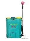 新型電動噴霧器農用鋰電池12v充電背負式小型大功率打農藥機高壓MBS「時尚彩紅屋」