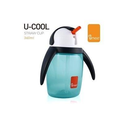 荷蘭 Umee 優酷企鵝杯-藍色(360ml)[衛立兒生活館]