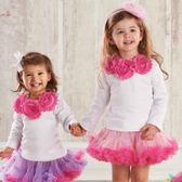 雪紡上衣: 粉紅花環玫瑰: 176200