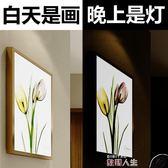 超薄臥室床頭燈客廳樓梯過道簡約藝術壁燈美式燈具壁畫燈 igo 數碼人生