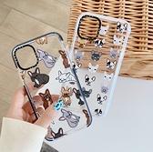 iPhone 8 7 Plus SE2 手機殼 透明軟殼 情侶 超強防摔保護套 簡約 可愛卡通 保護殼 個人化手機套