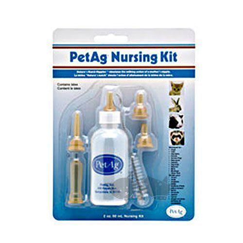 [寵樂子] 【PetAg】小護士乳瓶套餐組合(4 Oz.Nursing Kit)