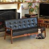 三人沙發 北歐布藝沙發小戶型現代簡約 實木布藝沙發出租屋布藝小客廳沙發T 4色 交換禮物
