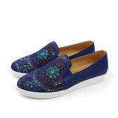 HUMAN PEACE 休閒鞋 藍色 女鞋 no386