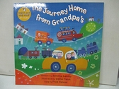 【書寶二手書T1/少年童書_DUH】The Journey Home from Grandpa's_Lumley