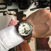 快速出貨-2019新款全自動機械錶鏤空男士手錶防水陀飛輪時尚款休閒商務潮流