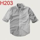 AF Abercrombie & Fitch A&F A & F 男 當季最新現貨 襯衫 AF H203