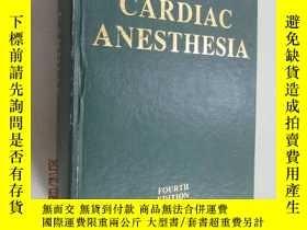 二手書博民逛書店外文書罕見CARDIAC ANESTHESIA 共1411頁 精