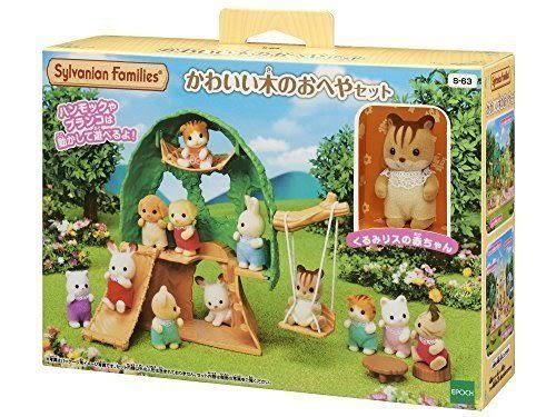 日本 EPOCH 森林家族 嬰兒森林小樹屋EP28440