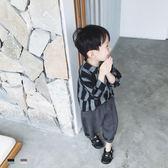 雙12購物節   略略原創18新款韓版男童復古襯衫兒童上衣秋款文藝風長袖襯衣 潮   mandyc衣間